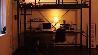 ニューヨークテイストのモテ男系ロフトベッド!