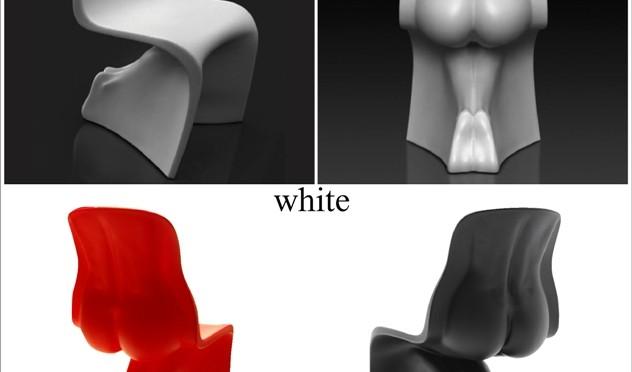 裸体のシルエットがセクシーなチェア・Him&Her CHAIR/CASAMANIA ITALY/Fabio Novembre
