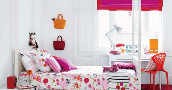 ガーリー&ポップな、女の子のためのお部屋