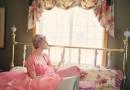 6帖のワンルームに、お姫様ベッド・天蓋ベッド